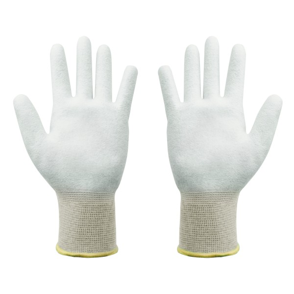 ESD Handschuhe Größe XL beschichtete Innenfläche