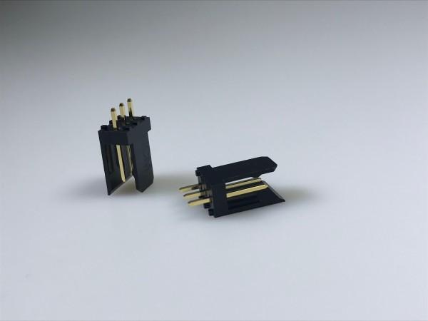 Stiftleiste, einreihig, gerade, 3-polig