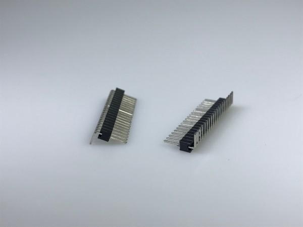 Stiftleiste, RM 1,27 mm, einreihig, 20-po