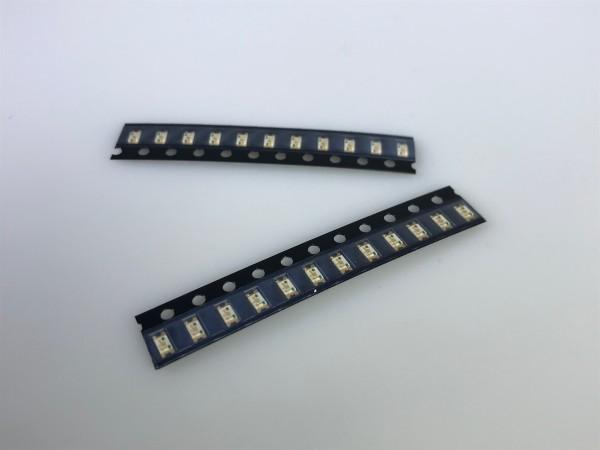 LED ultraflach, transparent, rot