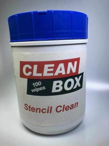 STENCIL CLEANER; Dose, Vliesstoff Kasper