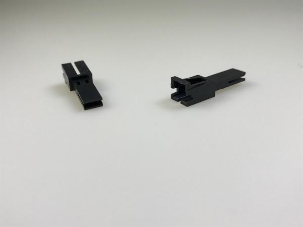 1L-Gehäuse, 2-polig f. Verriegel