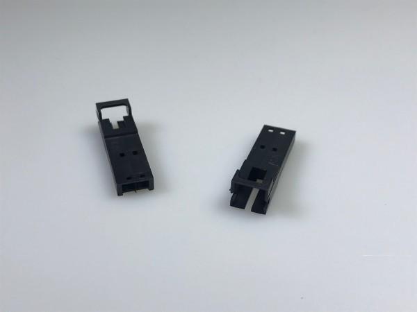 Stiftgehäuse für Litzen, 2-polig