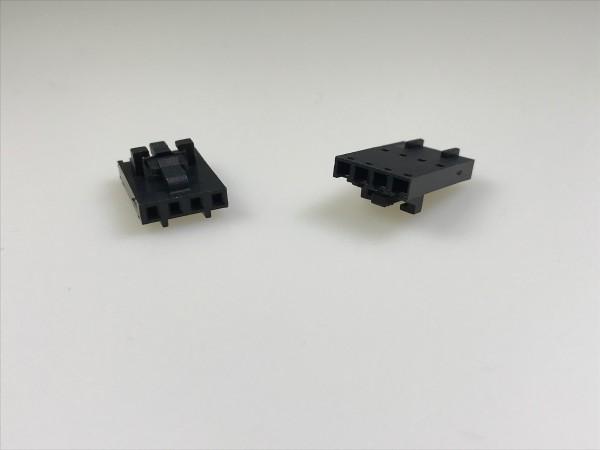 Buchsengehäuse für Litzen, 4-polig
