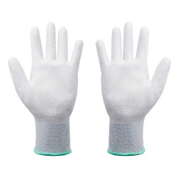 ESD Handschuhe Größe S beschichtete Innenfläche