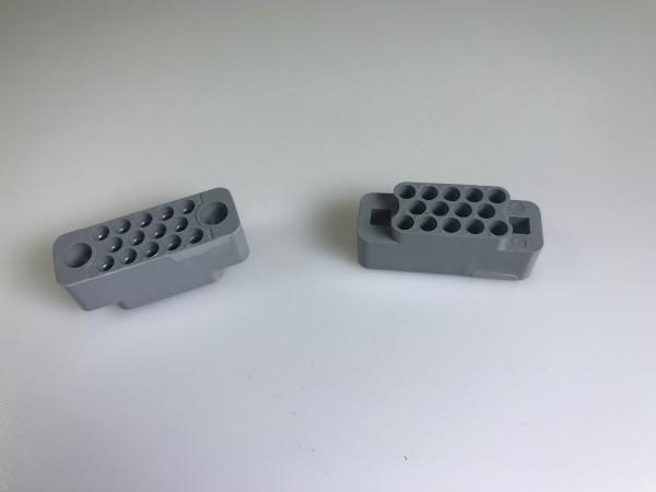 Stiftsockel MRAC-Serie, Winchester, 14-polig