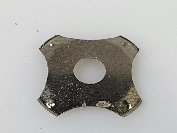 Dome N 10mm, 4-beinig mit Loch, 340g