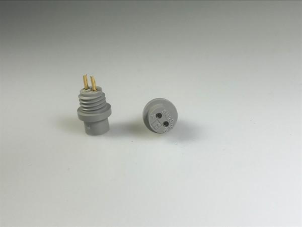 Miniatur-Rundstecker SM-Serie Winchester 2-Buchsen