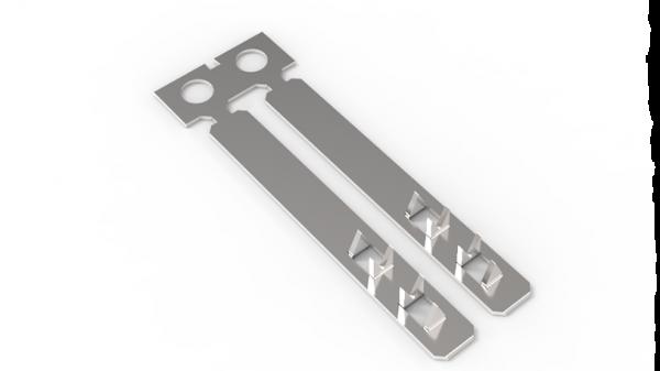 Crimpflex-Lötkontakt, lang, verzinnt (Rolle)