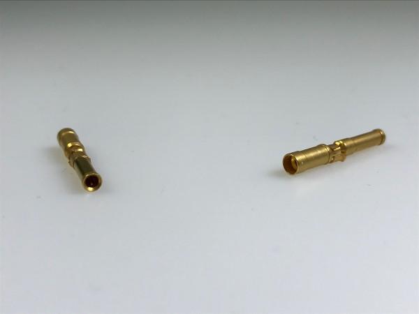 Crimp-Buchsenkontakt Winchester, AWG 14-16