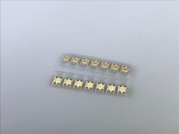 LED ultraflach, zweifarbig gelb/grün