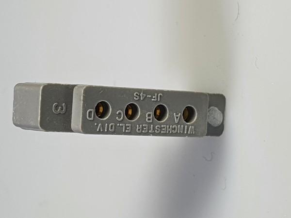 Flachstecker JF4-Serie, Winchester, kodiert