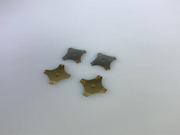 Schnappscheibe N 12,2mm, 4-beinig, 340g